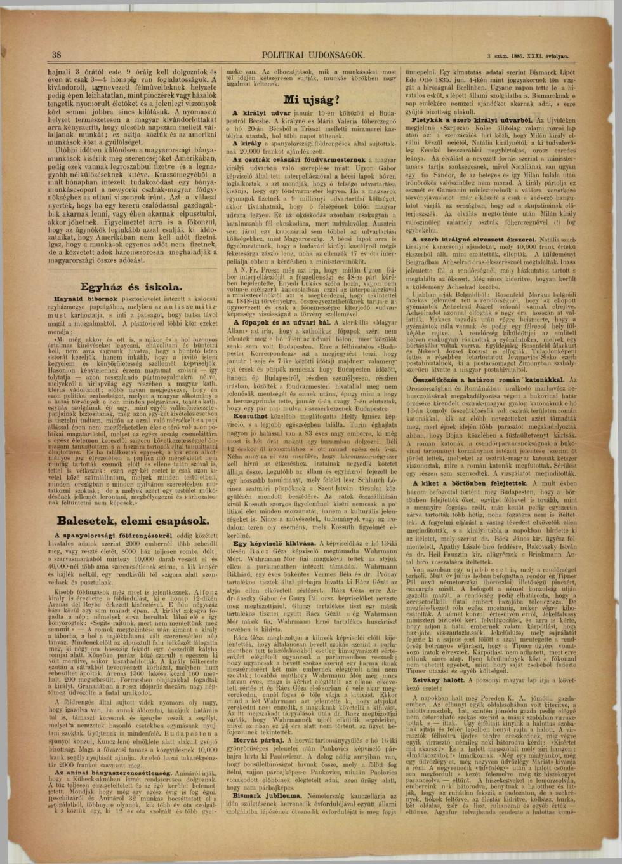 A magyarok külföldön (1885) 2